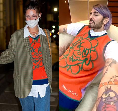 Модная битва: Белла Хадид против Марка Джейкобса