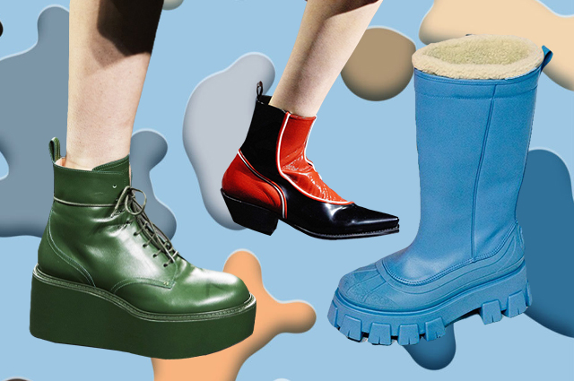 Облегающие ботфорты, сапоги наездницы и еще 5 главных осенних трендов в обуви