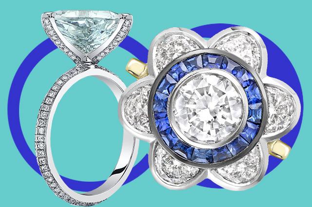 10 главных трендов в помолвочных кольцах для свадебного сезона 2021 года