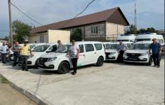 В лечебные учреждения Дагестана поступит санитарный автотранспорт