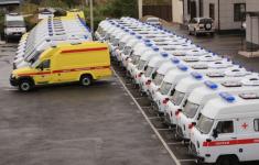 В Дагестане увеличилось число медицинских автомобилей