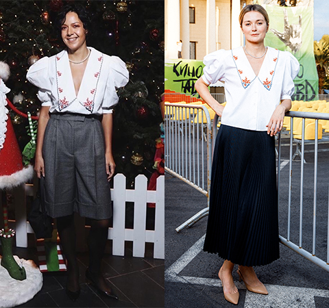 Модная битва: Ксения Чилингарова против Надежды Михалковой