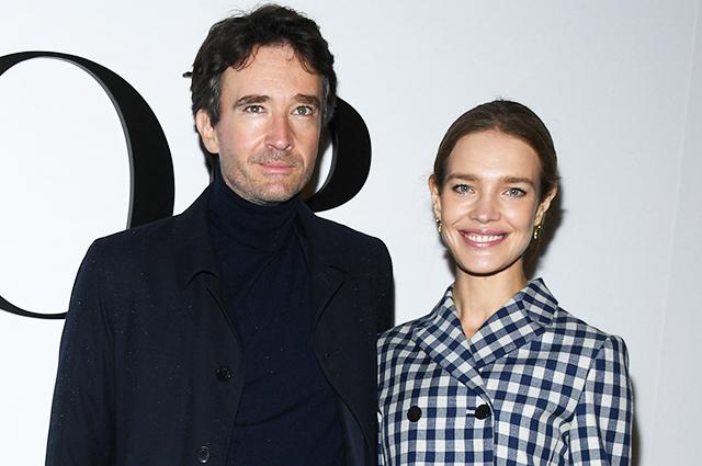 Неделя моды в Париже: Наталья Водянова с мужем Антуаном Арно, Мэйси Уильямс, Людивин Санье на показе Dior